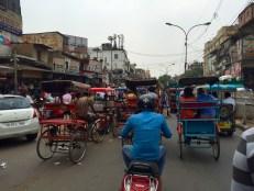 Rickshaw Ride Through Old Delhi