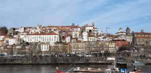 photo of the view or Porto Portugal