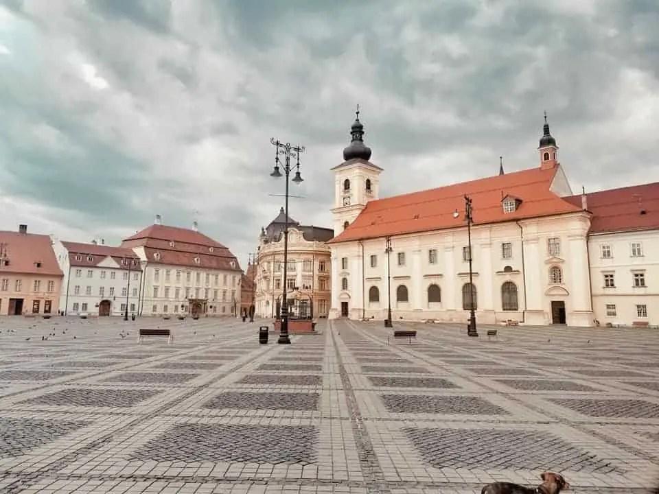Roman Catholic Church in Piata Mare, Sibiu, Romania