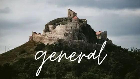 General Graphic - Rupea Citadel in Transylvania