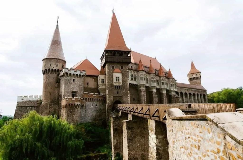 Hunedoara Castle in Transylvania