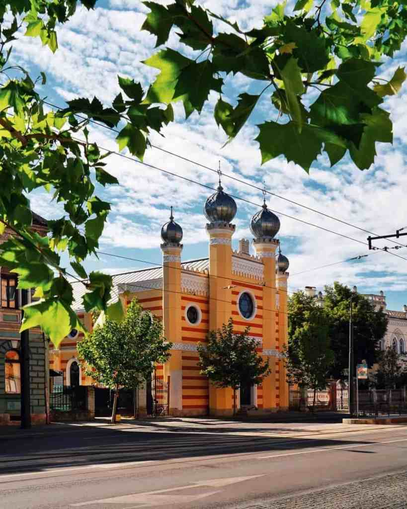 Onion-domed synagogue of Cluj-Napoca, Romania