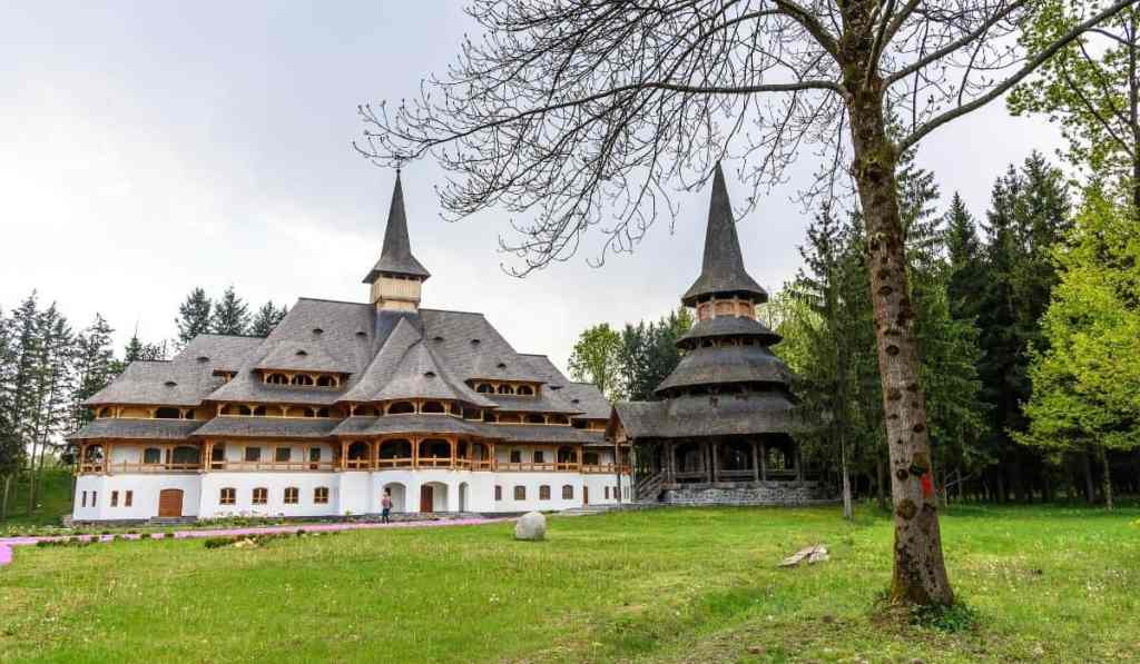 Wooden churches in Baia Mare, Romania (Transylvania).