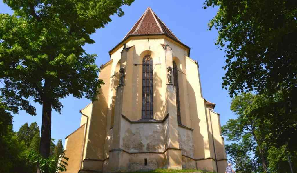 The Church on the Hill in Sighisoara, Romania, one of the city's most visited attractions.