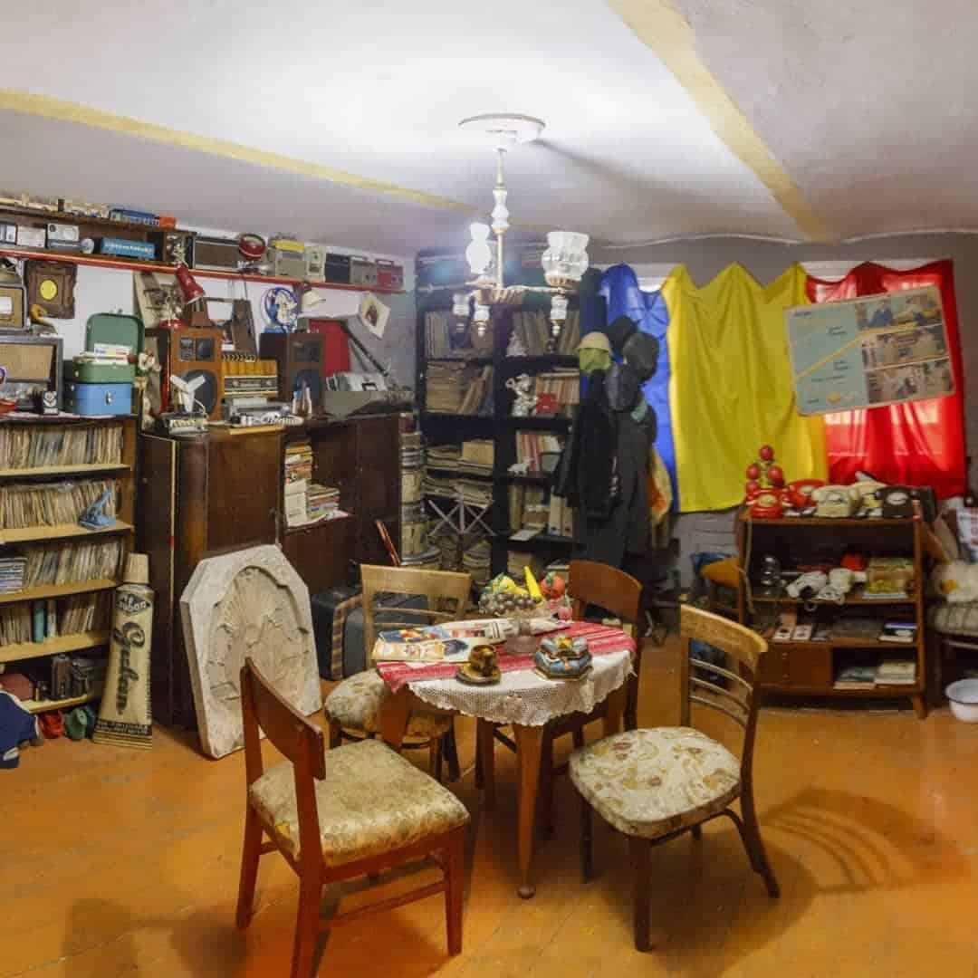 Interior of the Communist Consumer Museum, one of the best things to do in Timisoara.