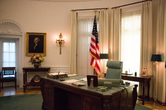 View of the Oval Office replica