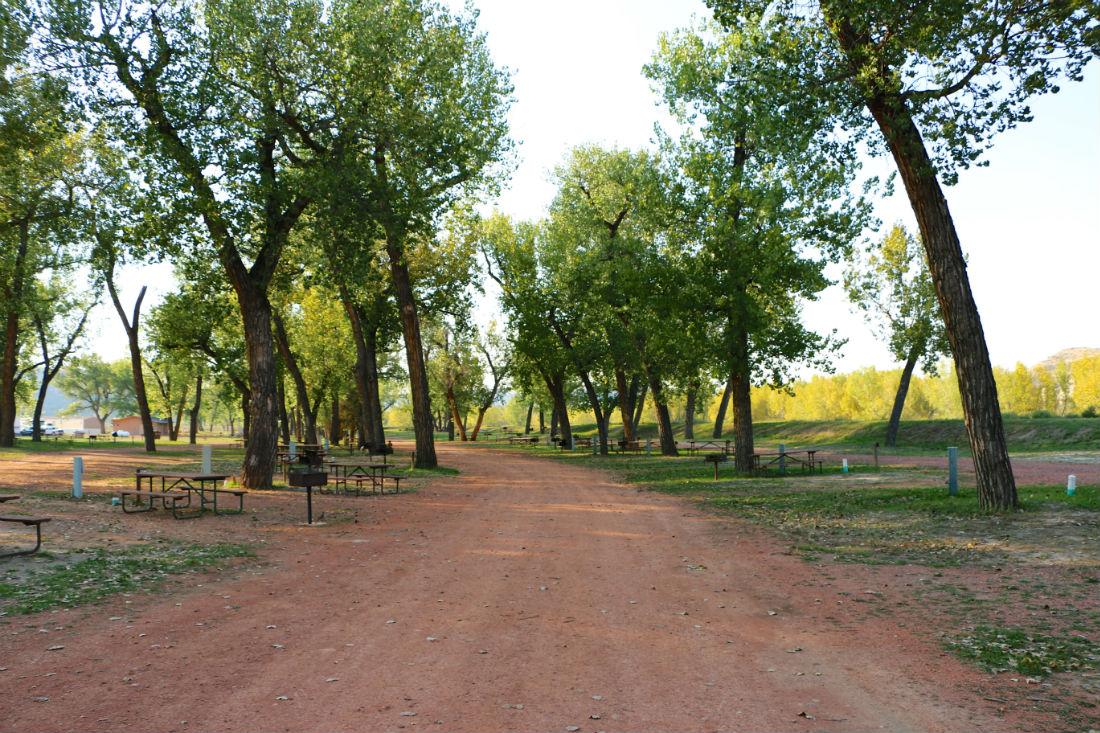 Medora Campgrounds North Dakota