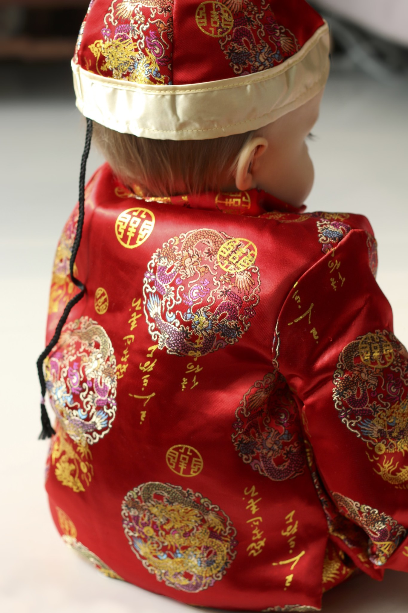 Ollie's Traditional Chinese Outfit