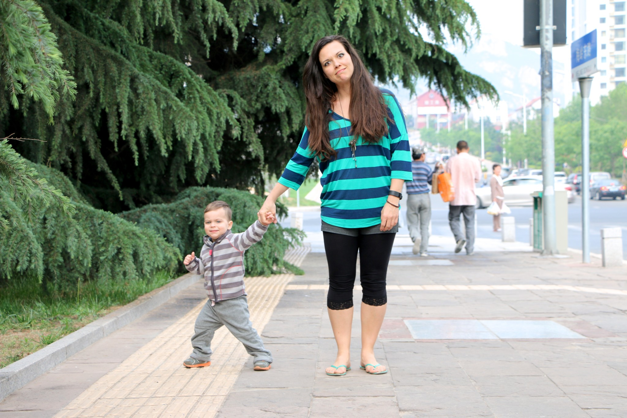 How to Walk with a Toddler