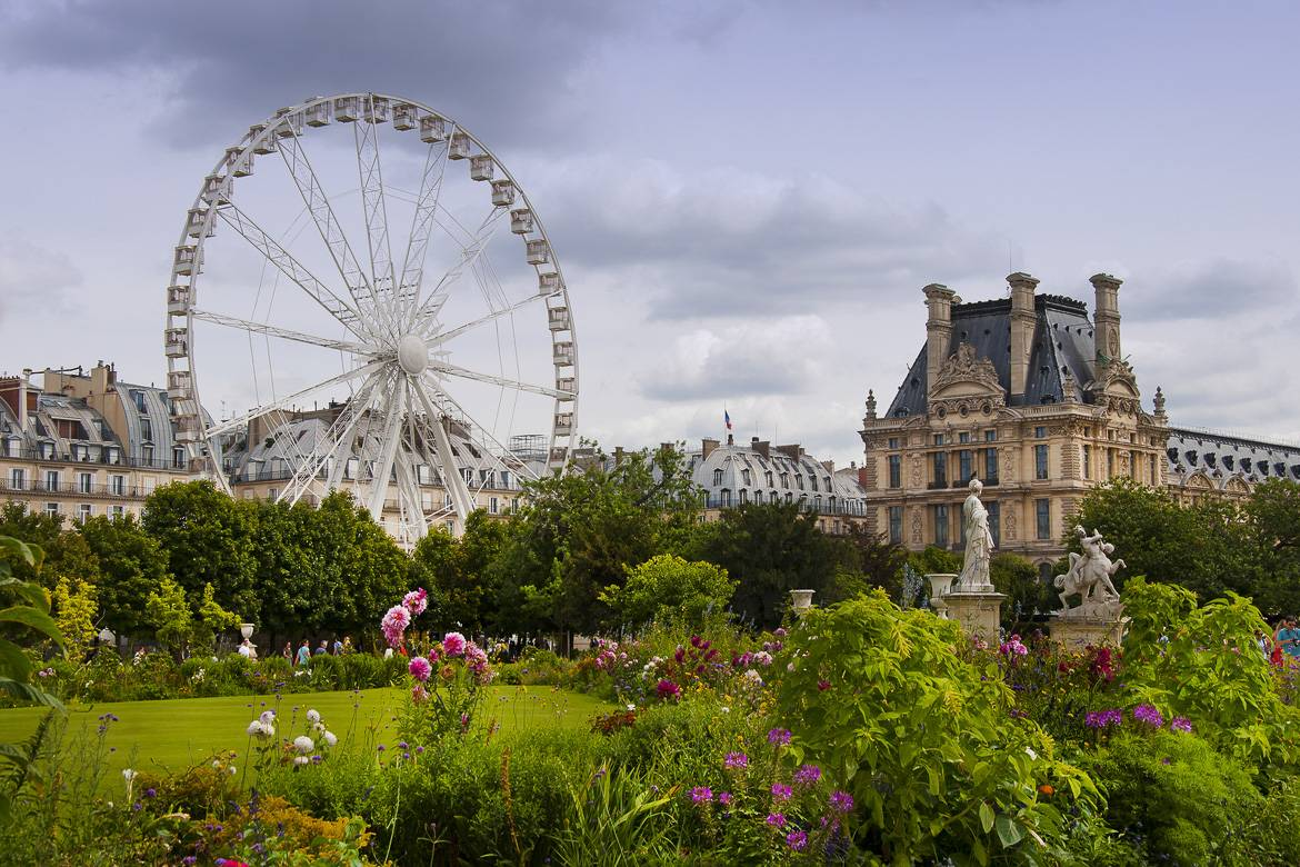 Jardin des Tuileries - Traveling with JC