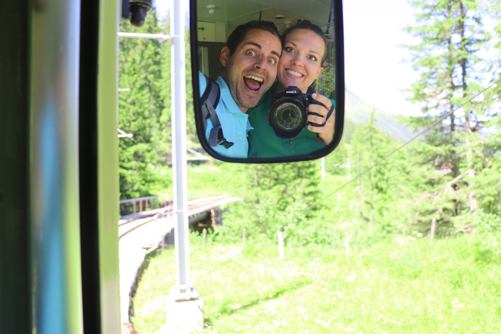 Grütschalp to Mürren│Train