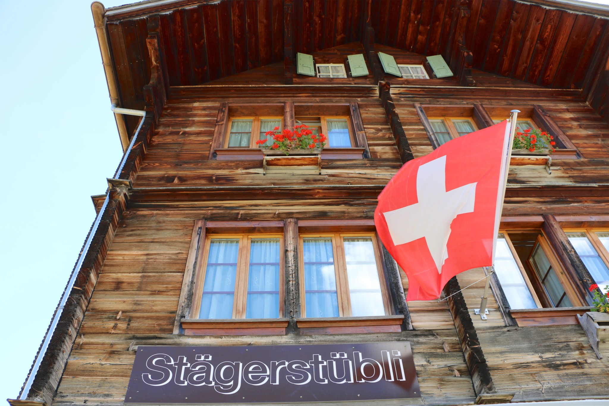 Lunch in Mürren│Stager Stübli