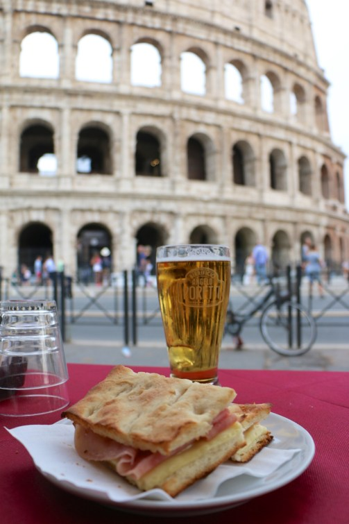 Lunch with a View │Colosseum, Rome