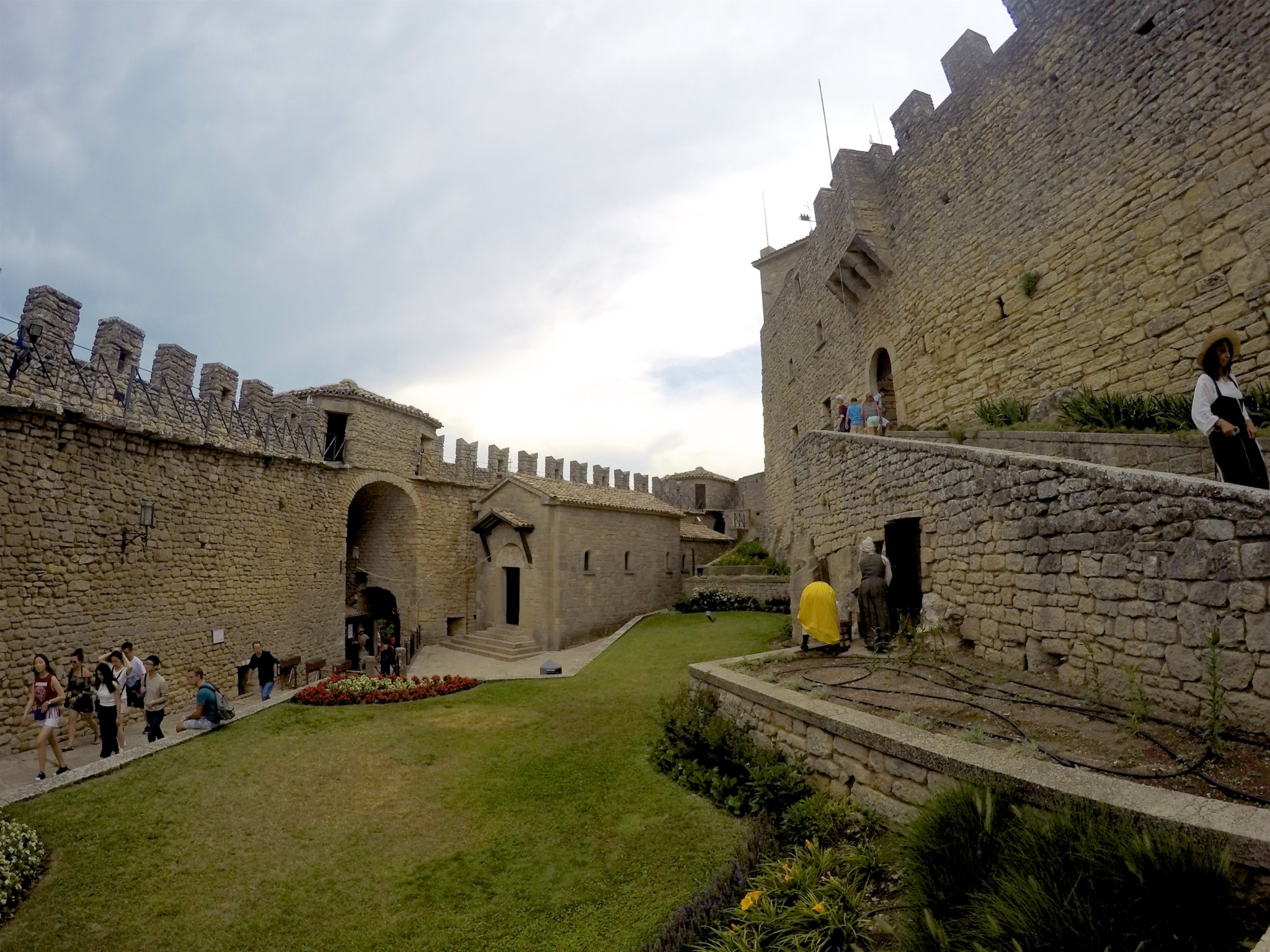 Fortress of Guaita, San Marino.