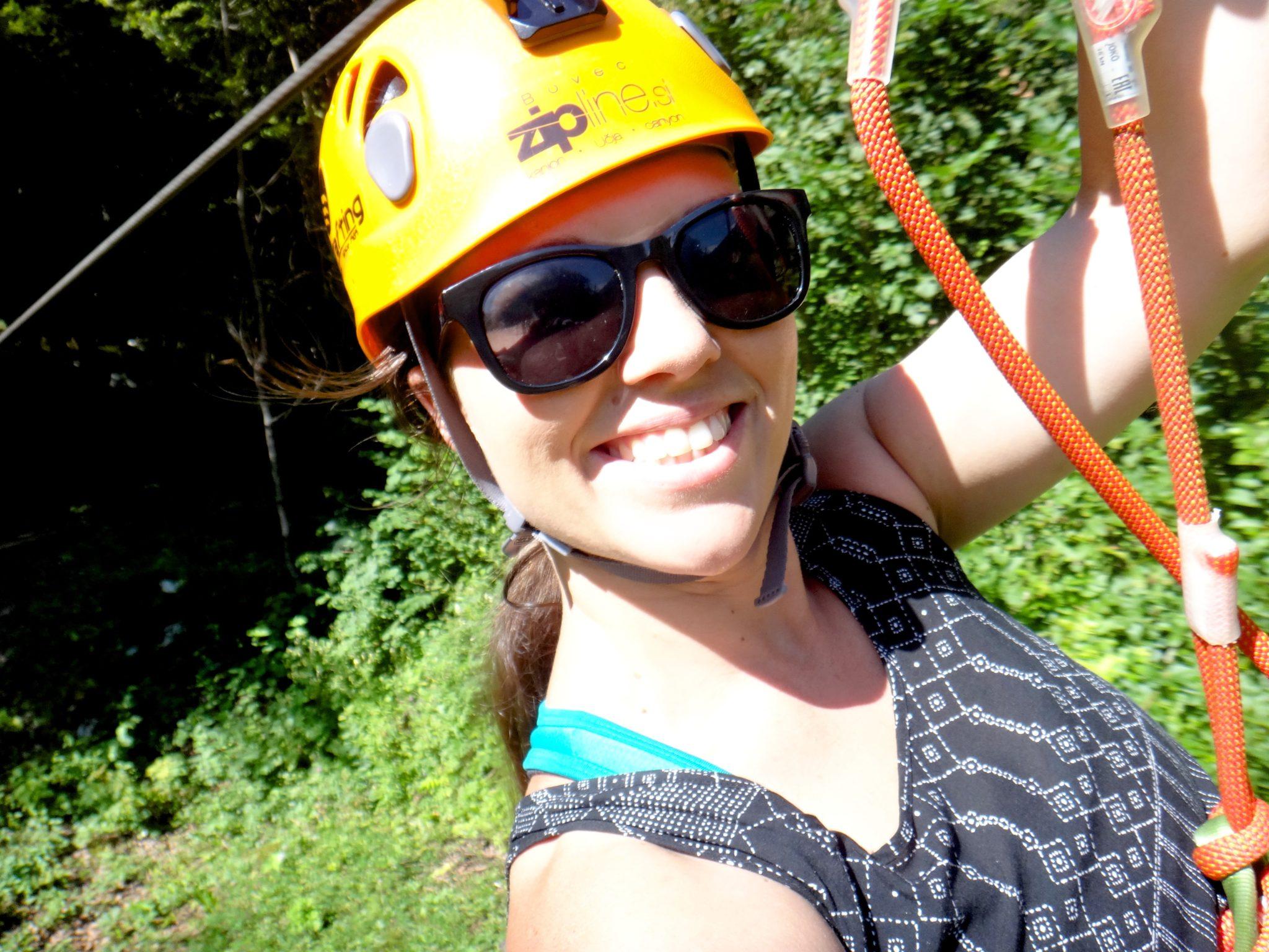 Ziplining Soča Valley
