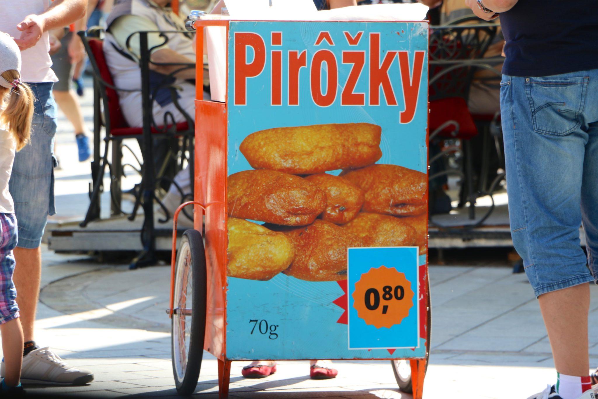 Pirozky: A Slovakian Donut