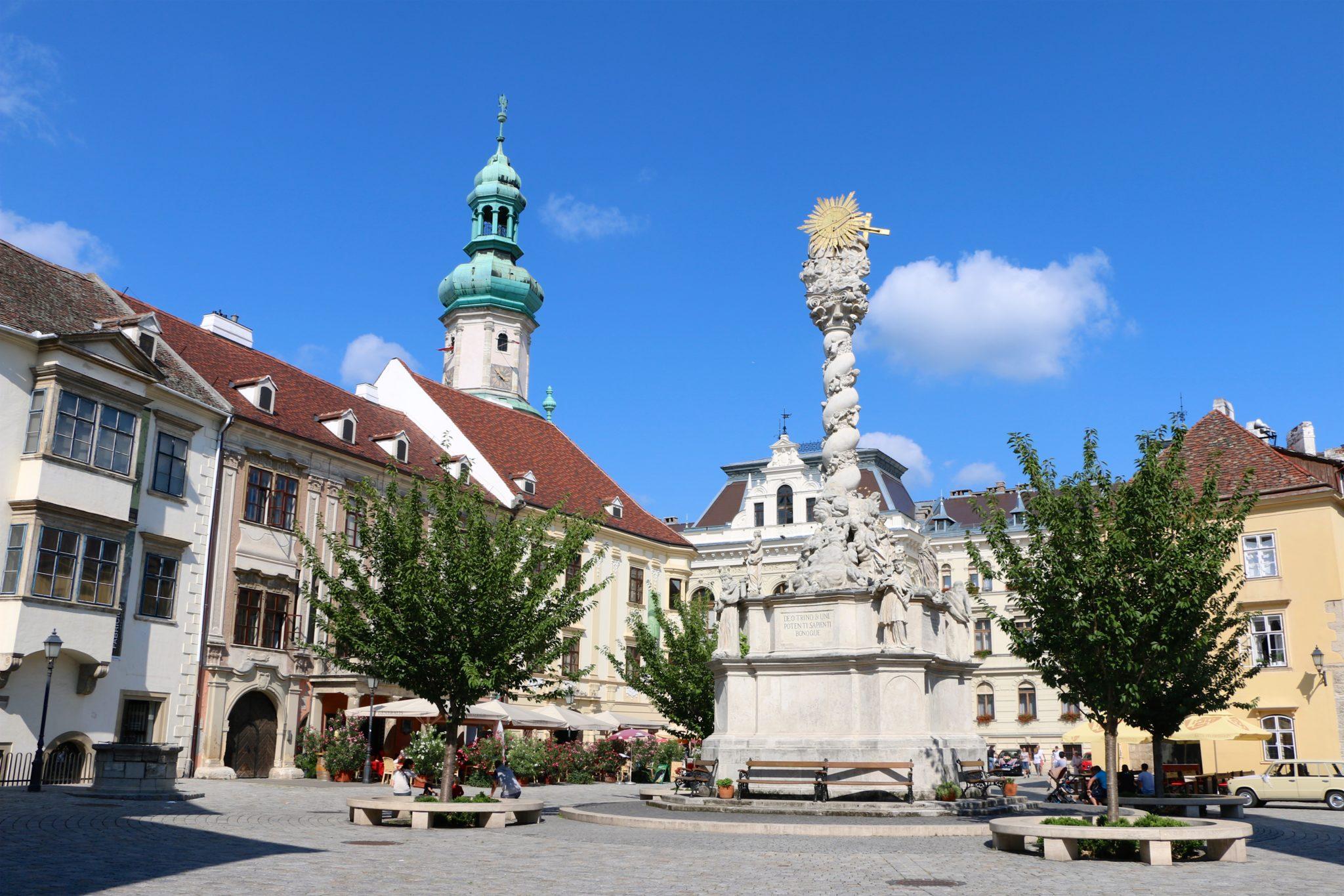 Fő tér│Sopron's Baroque Main Square