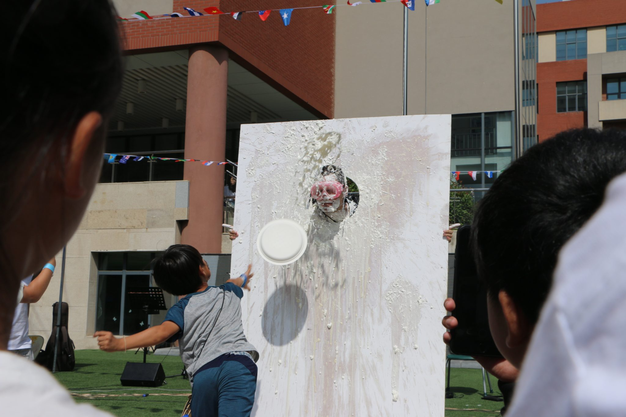 QISS International Fair │ Mr. Esser Gets Creamed