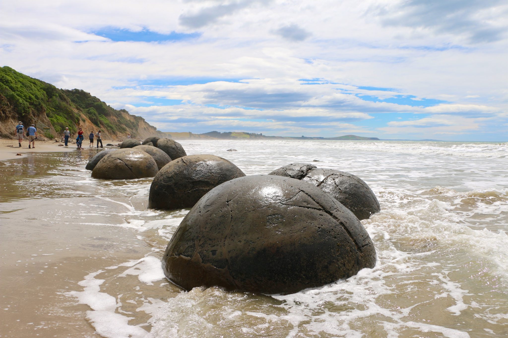 The Mysterious Moeraki Boulders