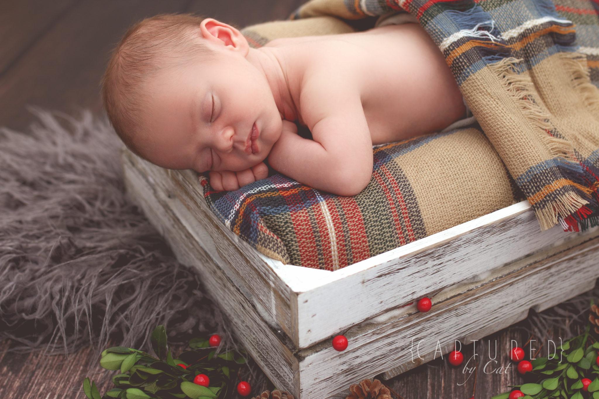 Parker's Newborn Shoot