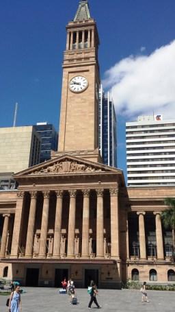 City hall & king george sq