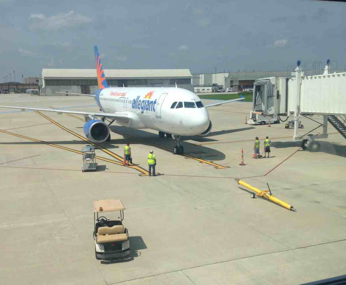 Allegiant Air and Rickenbacker Airport… I'll Do It Again