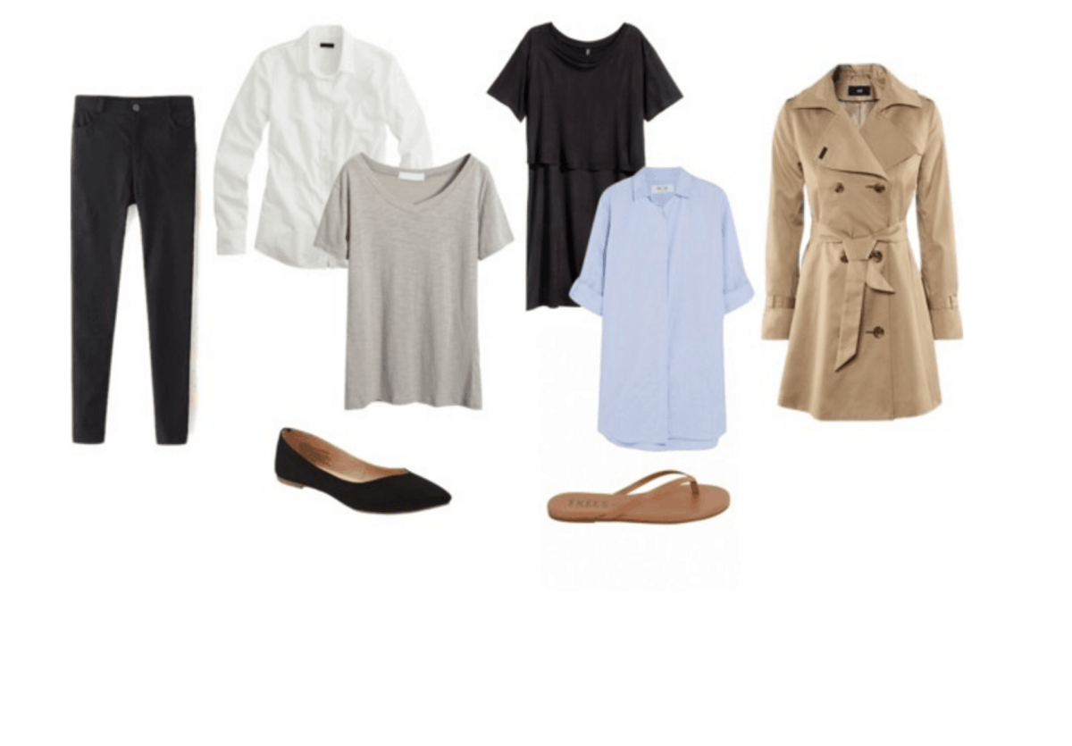 Minimalist travel wardrobe ideas