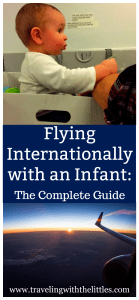 Flying Internationally with Infant-pinterest image 1-with url