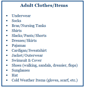 Adult Clothes
