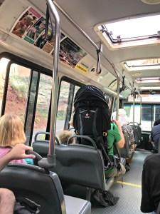 Zion National Park Shuttle Bus