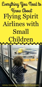 Flying Spirit Airlines with a Toddler Pin-Traveling with the Littles