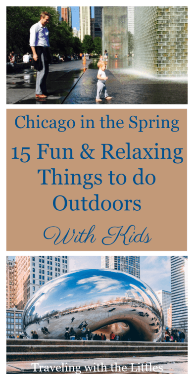 Things to do Outdoors in Chicago Pinterest Image