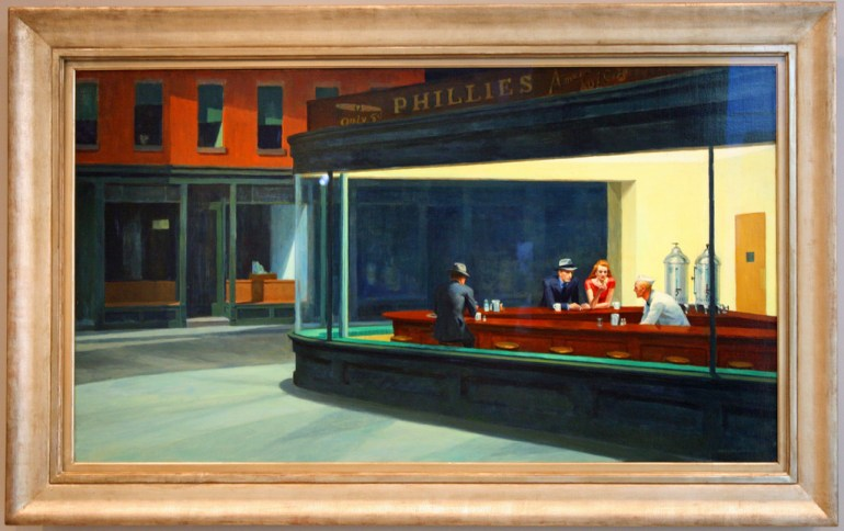 Nighthawks at the Art Institute of Chicago - Things to do in Chicago indoors with kids