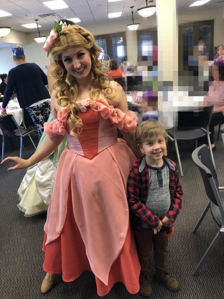 Tulip Time for families, Tulip Princess Tea Party with Princess Lida
