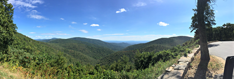Appalachian Trail, Ivy Creek Overlook
