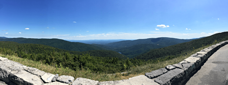 Moormans River Overlook, Shenandoah National Park