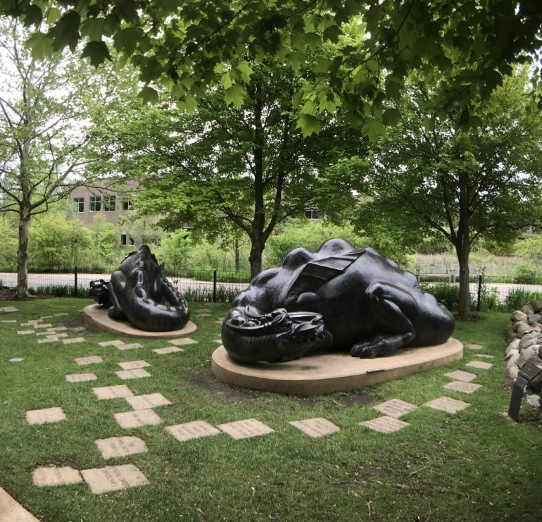 Dragons at the Frederic Meijer Gardens and Sculpture Park