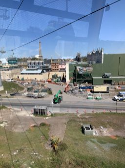 Approaching Ratatouille from the Skyliner