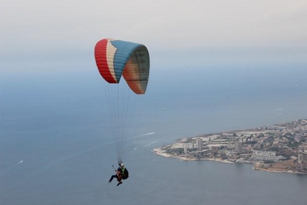 Harissa Lebanon Paragliding