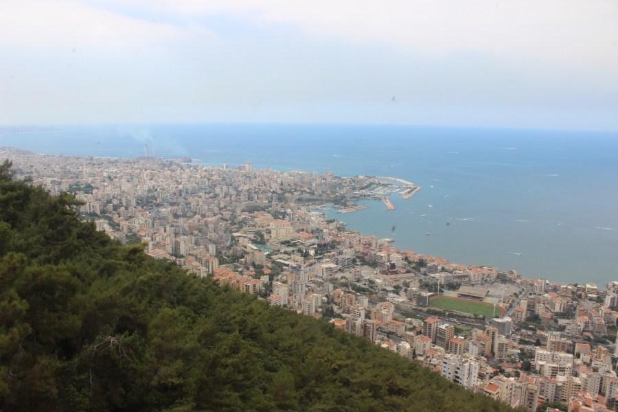 Lebanon Jounieh Bay Scenery