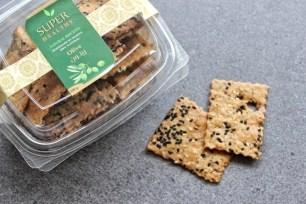 Super healthy homemade crackers 2