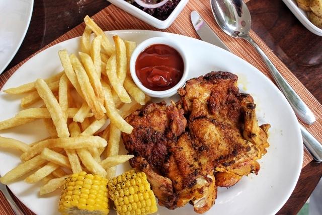 Gordon's Cafe baby chicken