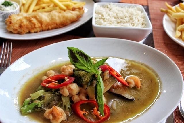 Gordon's Cafe thai shrimp curry