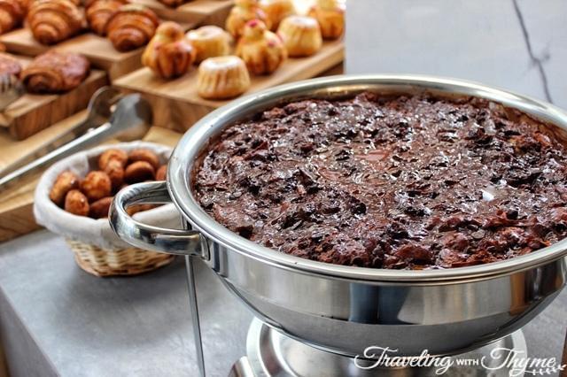 La Petite Table Dbayeh Chocolate Bread Pudding