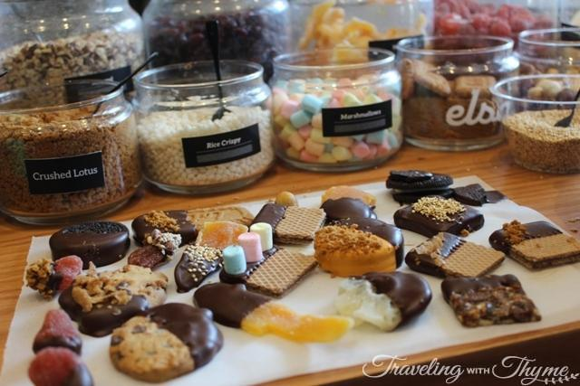 elsa chocolatier chocolate making