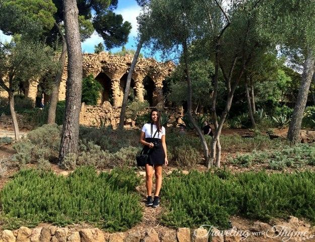 Parc Guell Barcelona Forest