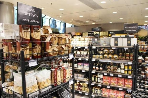 El Corte Ingles's luxury delicatessen