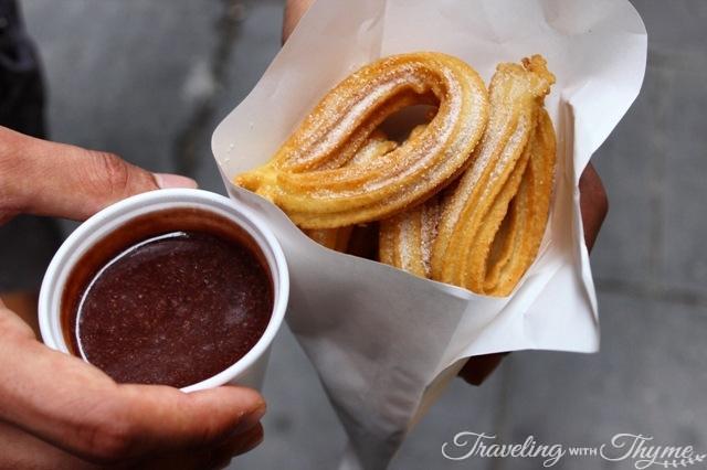 Churros con Chocolate Barcelona