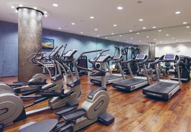 Le Gray Hotel Gym