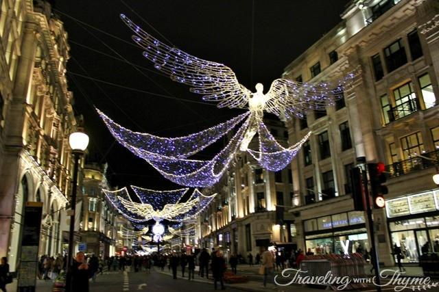 Christmas Decorations London in December